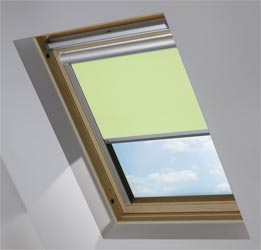 Solar Skylight in Wasabi Green Blackout