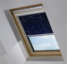 Solar Skylight in Night Sky Blackout