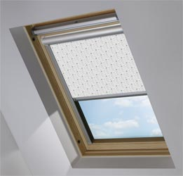 Solar Skylight in Soothing Starfall Blackout