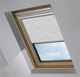 Solar Skylight in Wild Geese Dark Grey Translucent