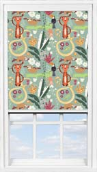 Main display image for BlocOut™ product with Jungle Friends Blackout fabric