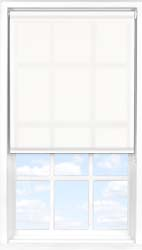 Main display image for Roller Blind product with Orchid White Translucent fabric