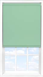 Main display image for Roller Blind product with Smooth Duck Egg Blackout fabric