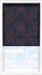 Main display image for Roller Blind product with Prism Burnt Orange Translucent fabric