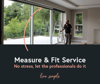 BlocBlinds Measure And Fit Service