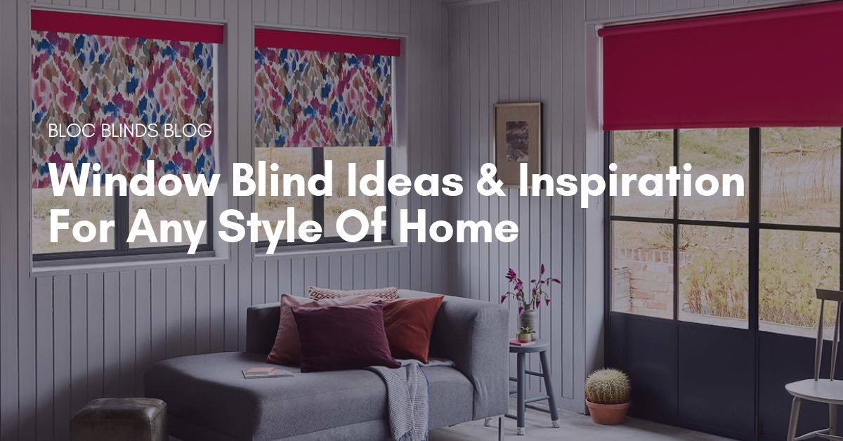 window blind inspiration