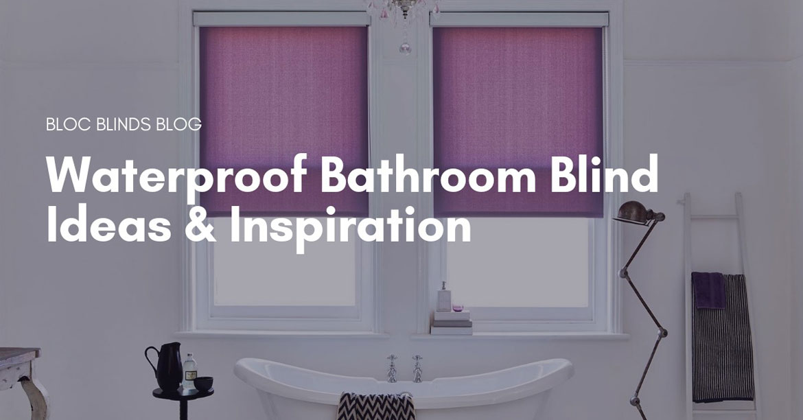 waterproof bathroom blind ideas