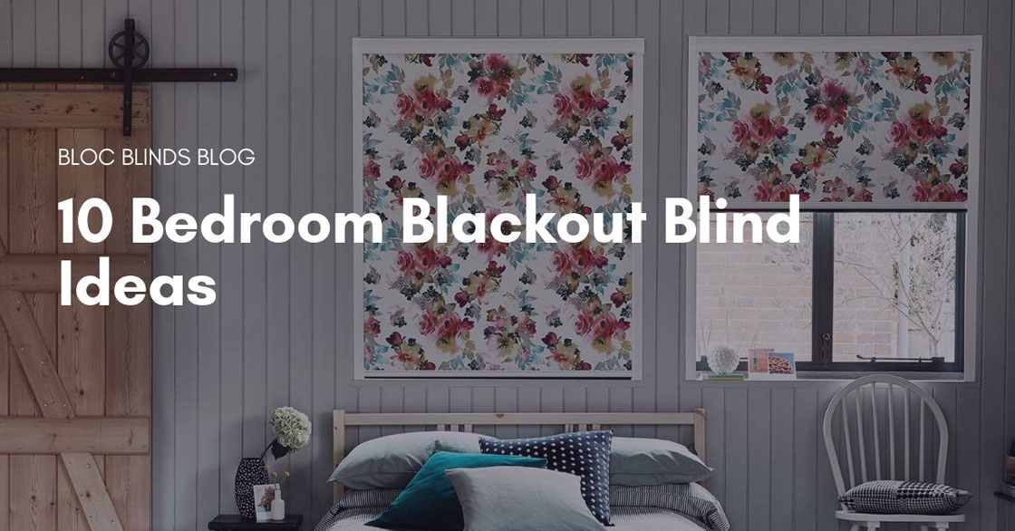 bedroom blackout blind ideas