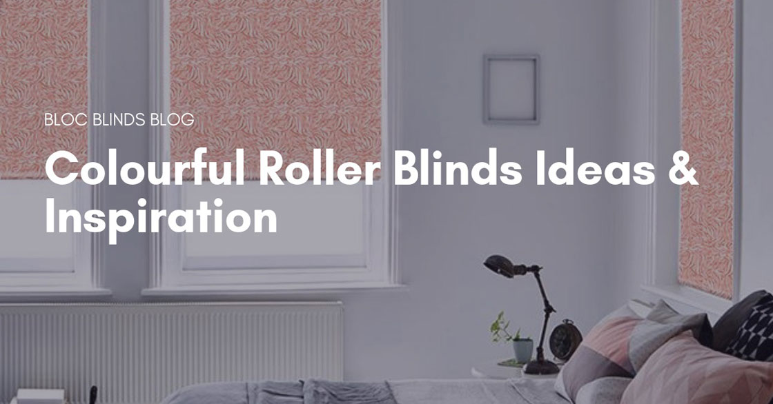 Colourful Roller Blinds Ideas