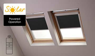 Blinds To Fit Your Velux Skylight Window Bloc Blinds