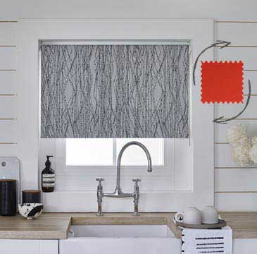 The Fabric Changer Roller Blind allows you to swap fabrics seconds