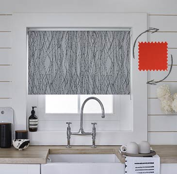 The Fabric Changer Roller Blind allows you to swap fabrics seconds.