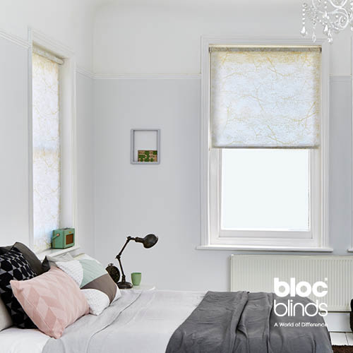 Translucent roller blinds for adults' bedrooms.