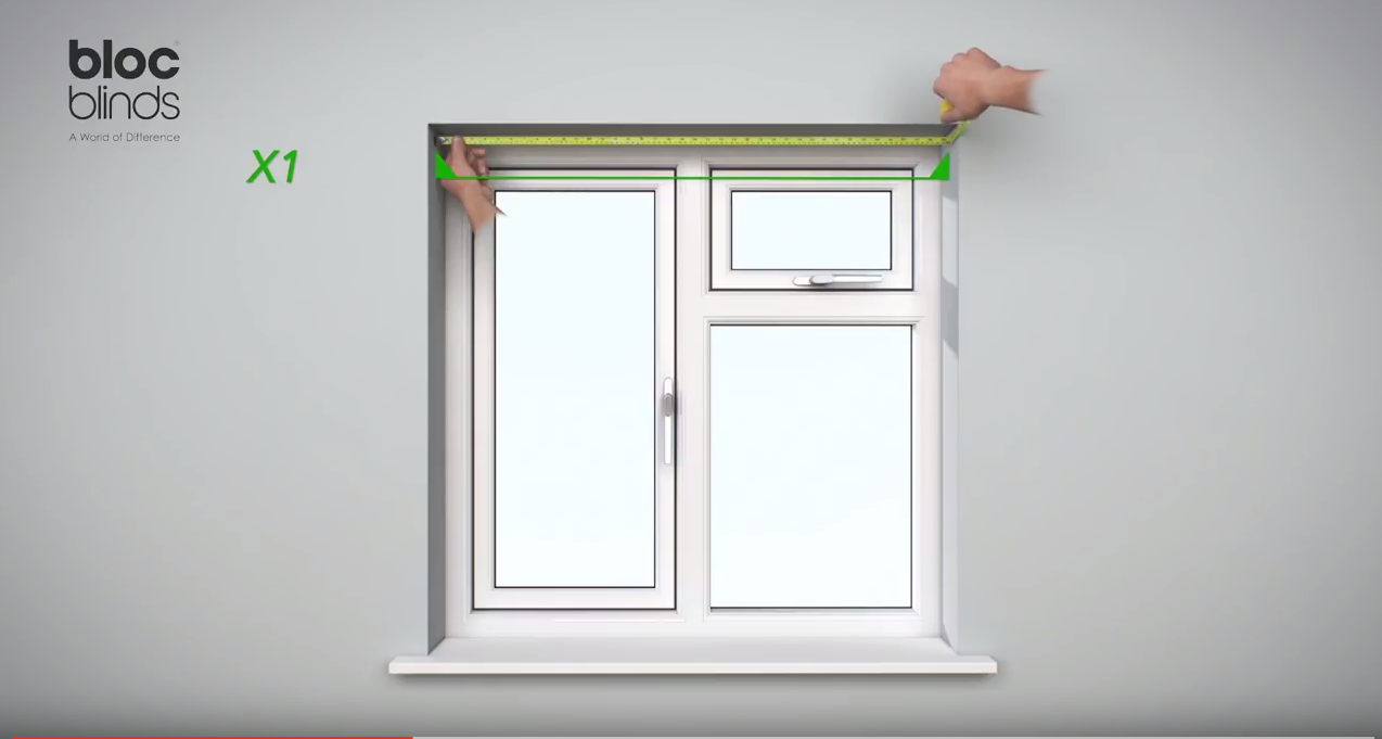 How to measure Width at the top of the window