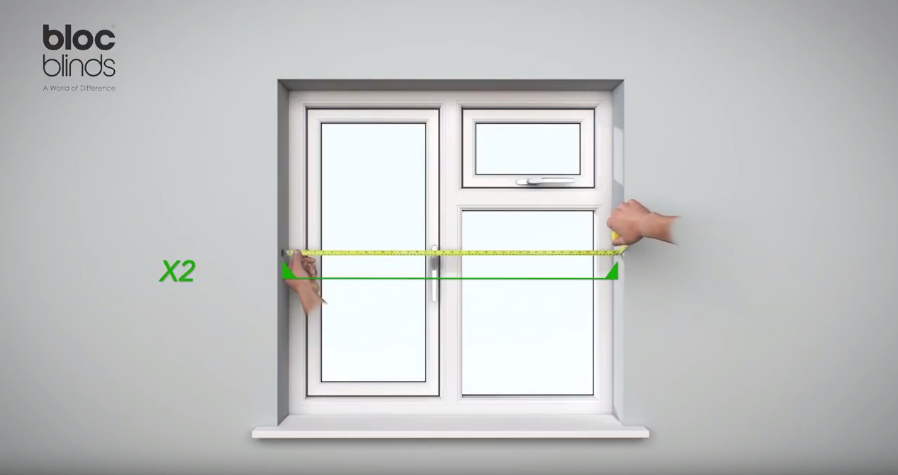 How to measure Width at the middle of the window