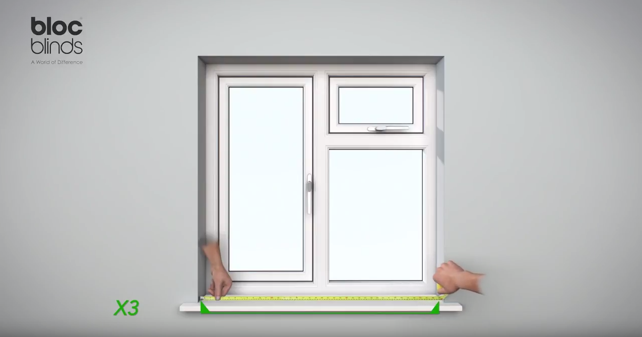 How to measure Width at the bottom of the window