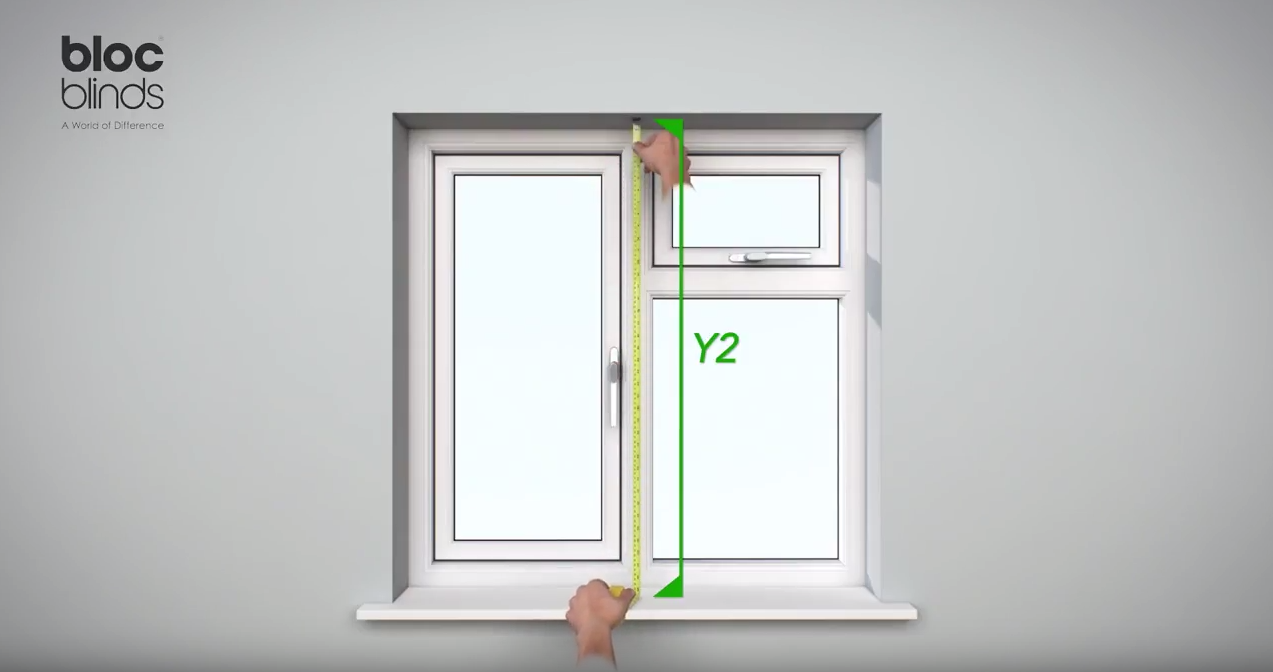 How to measure Height at the middle of the window
