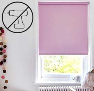 Easifit drill free roller blinds