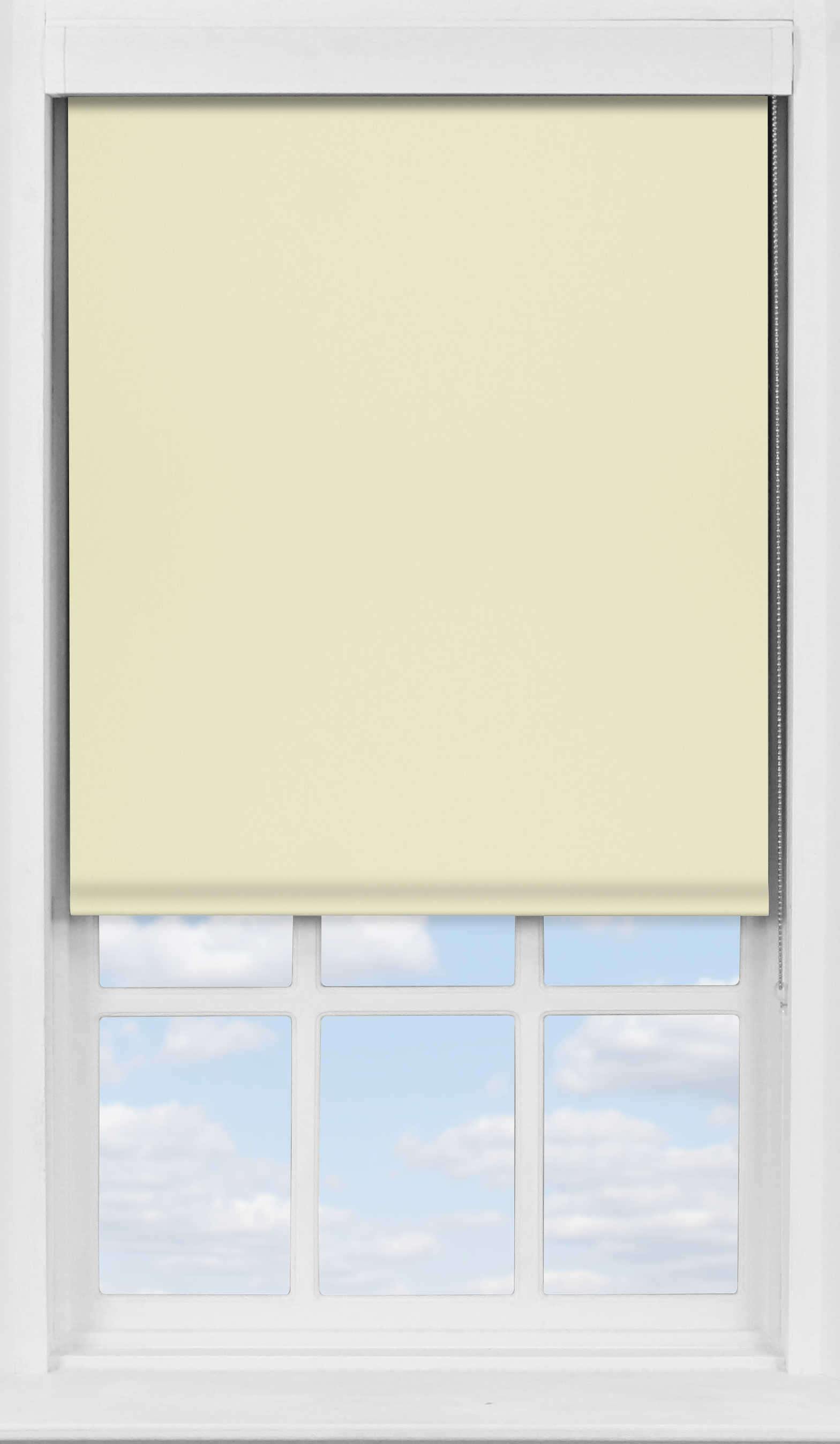 Premium Roller Blind in Lime Wash Blackout