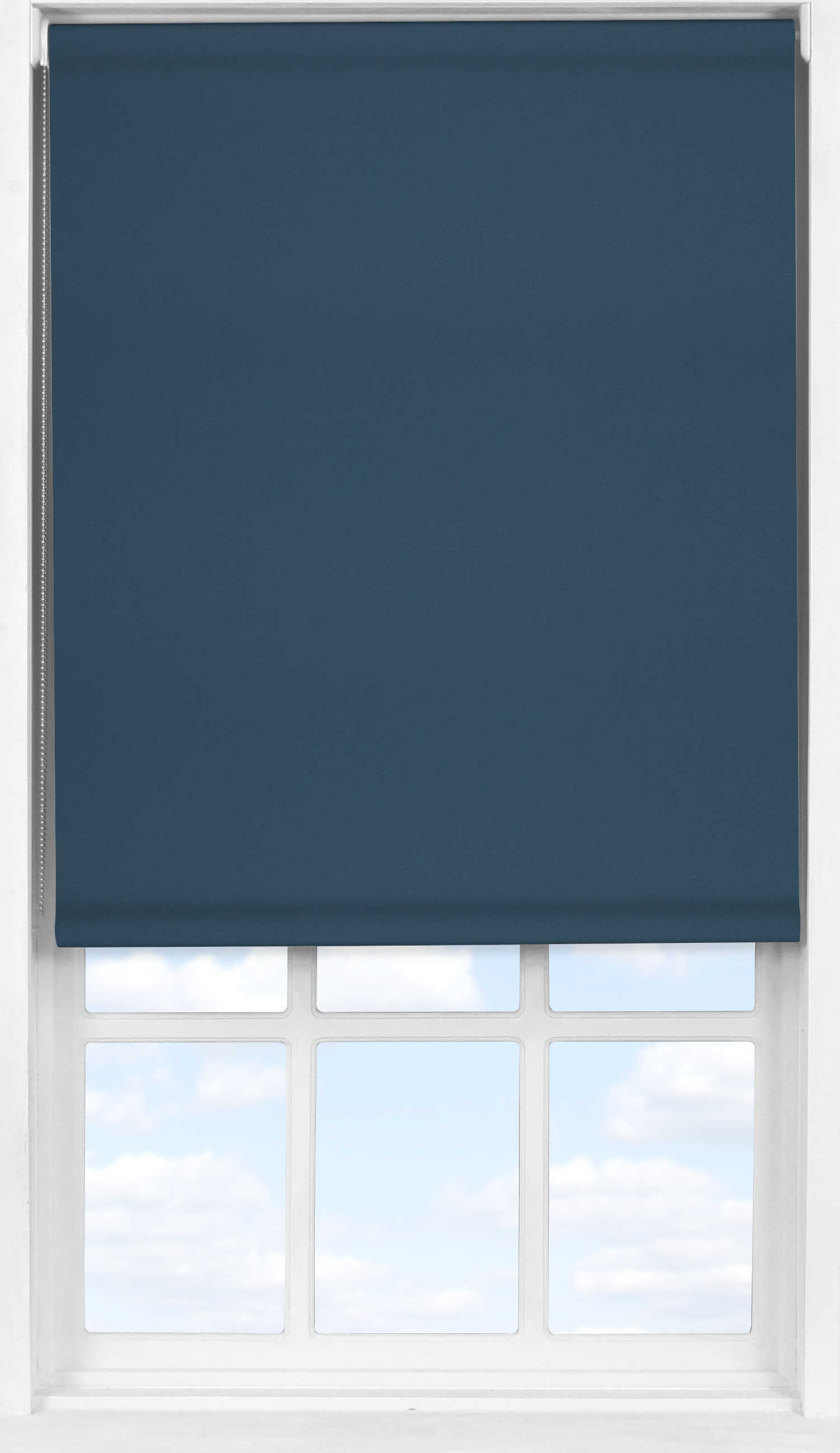 Easifit Roller Blind in Fisherman Blue Blackout