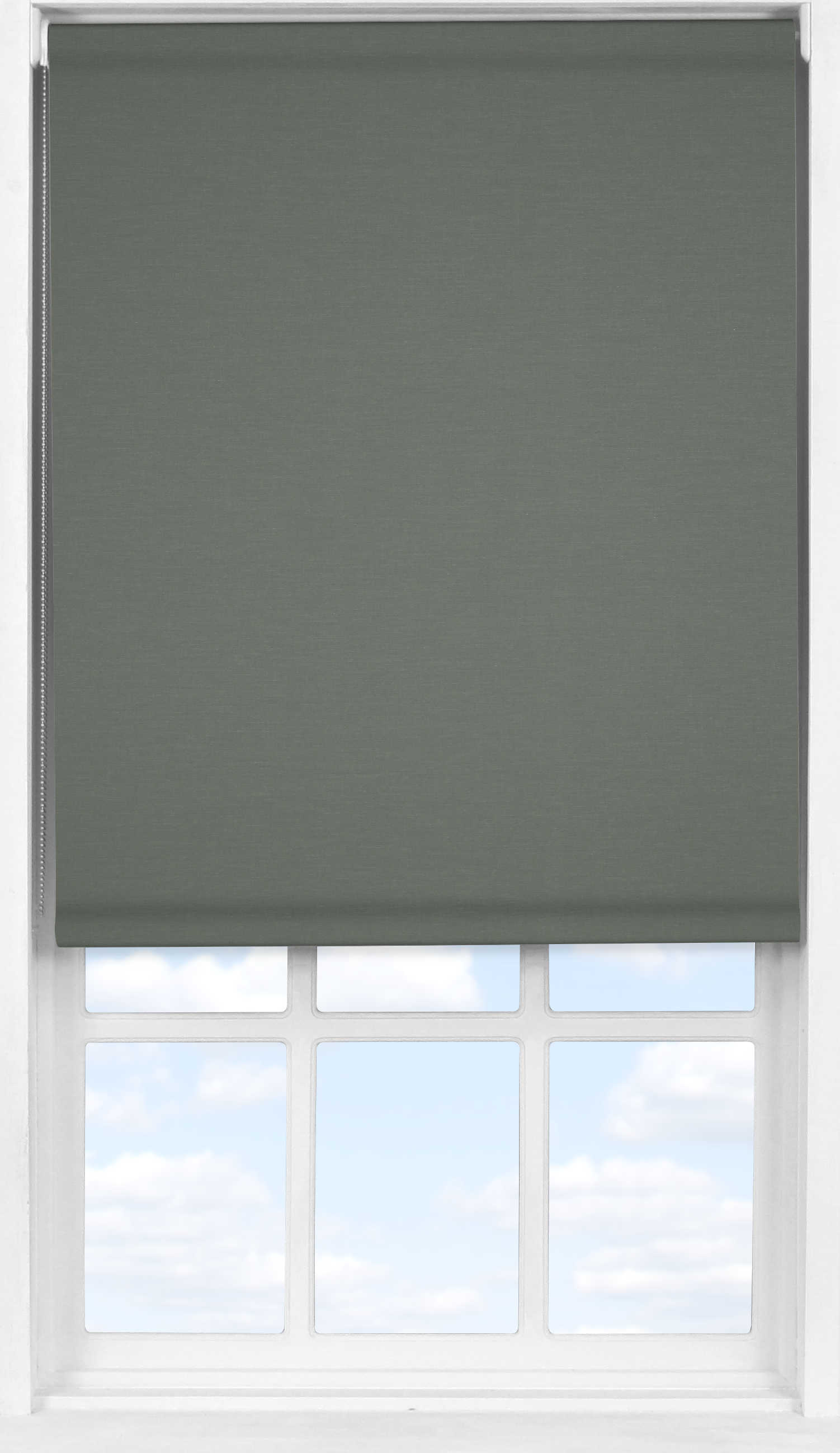 Easifit Roller Blind in Flint Blackout