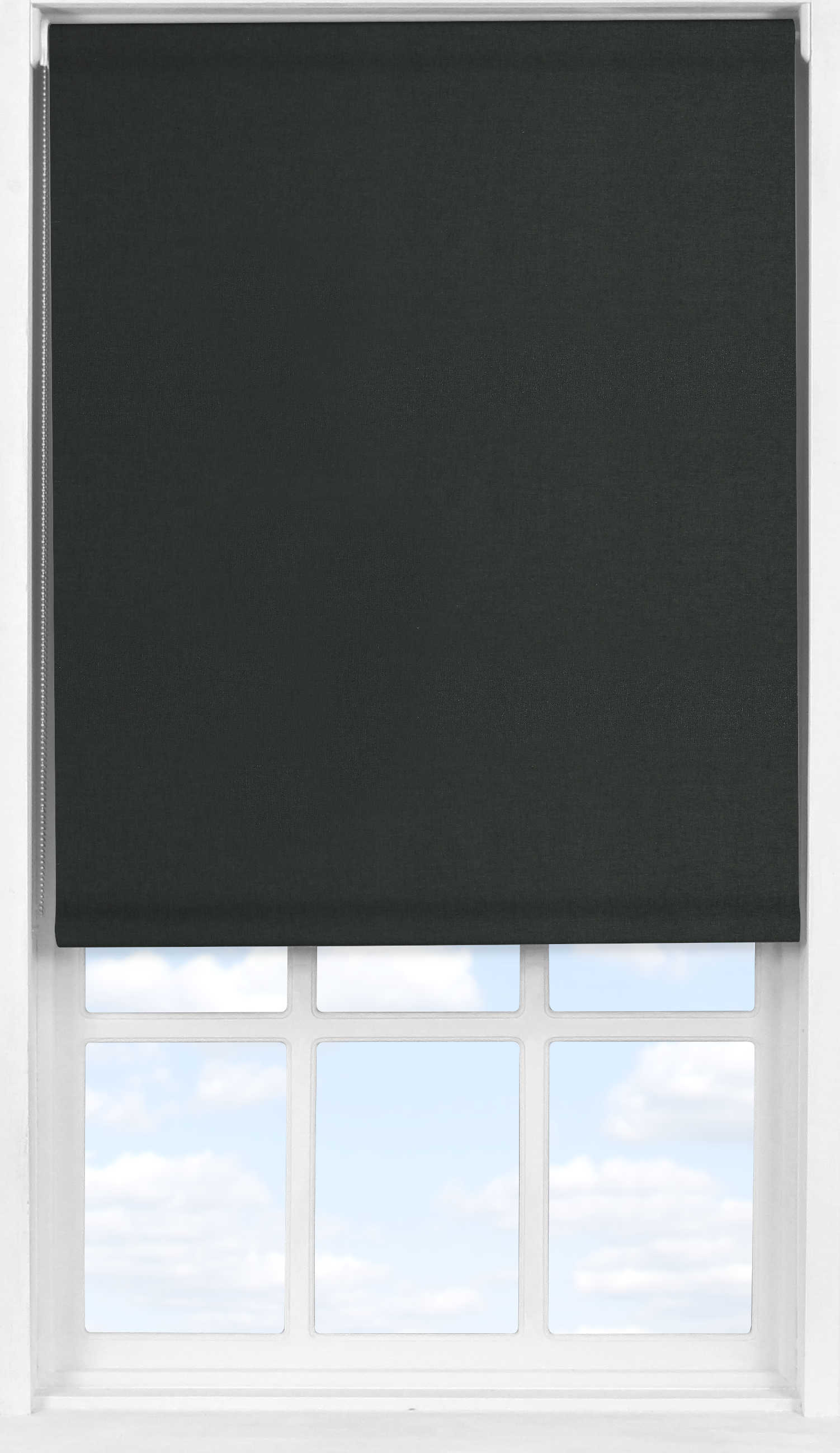Easifit Roller Blind in Raven Blackout