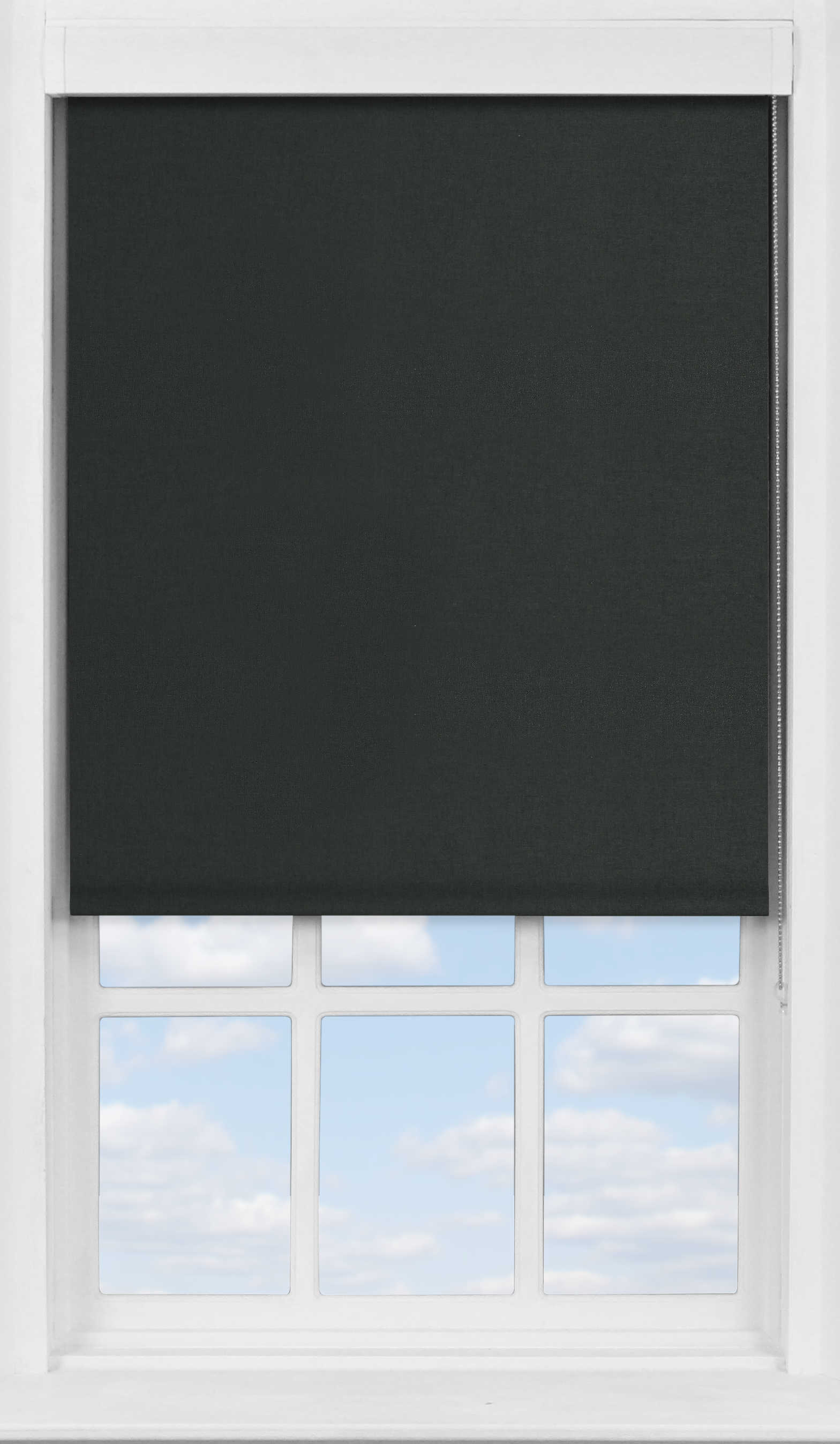 Premium Roller Blind in Raven Blackout