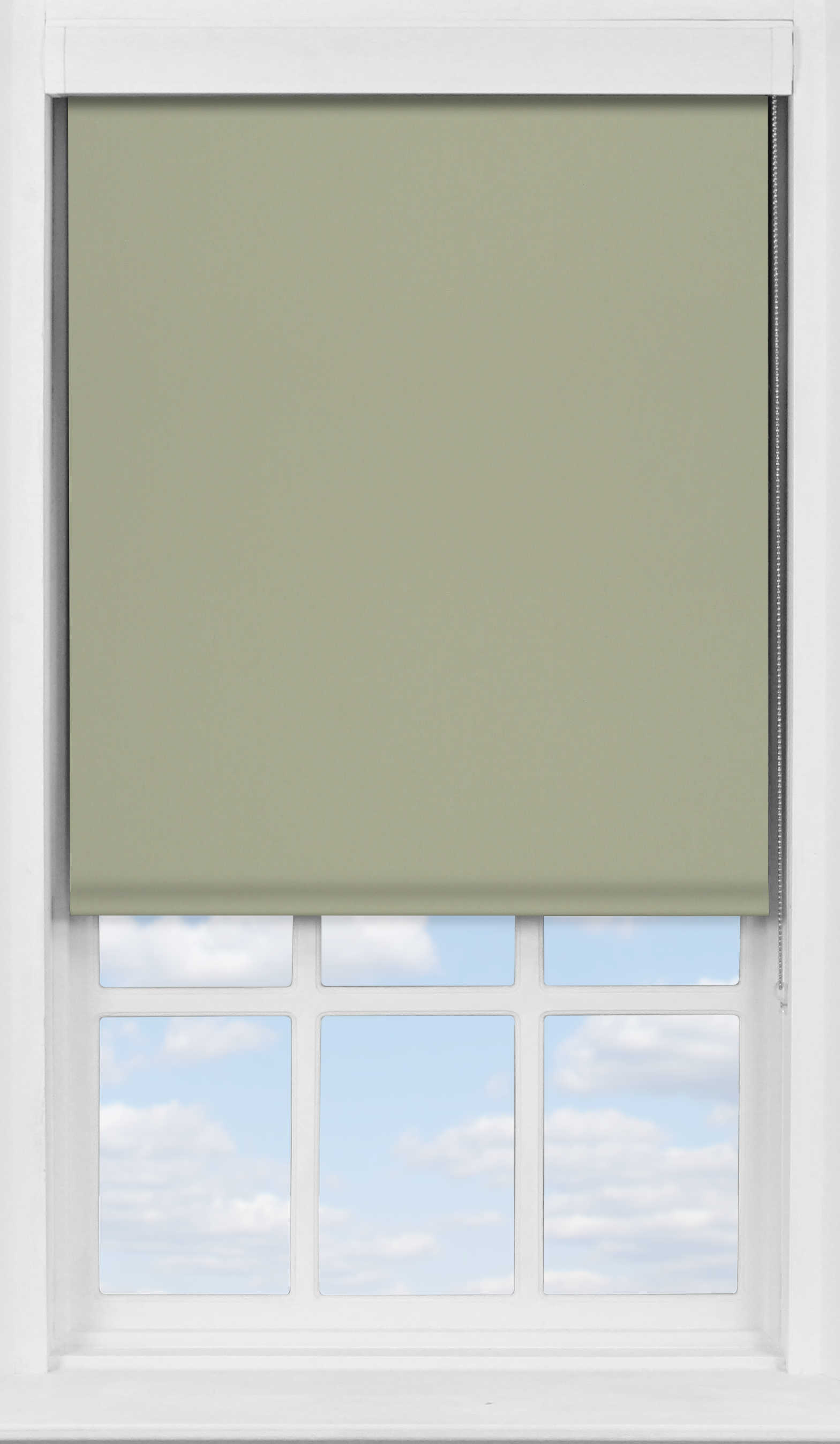 Premium Roller Blind in Wood Pigeon Blackout