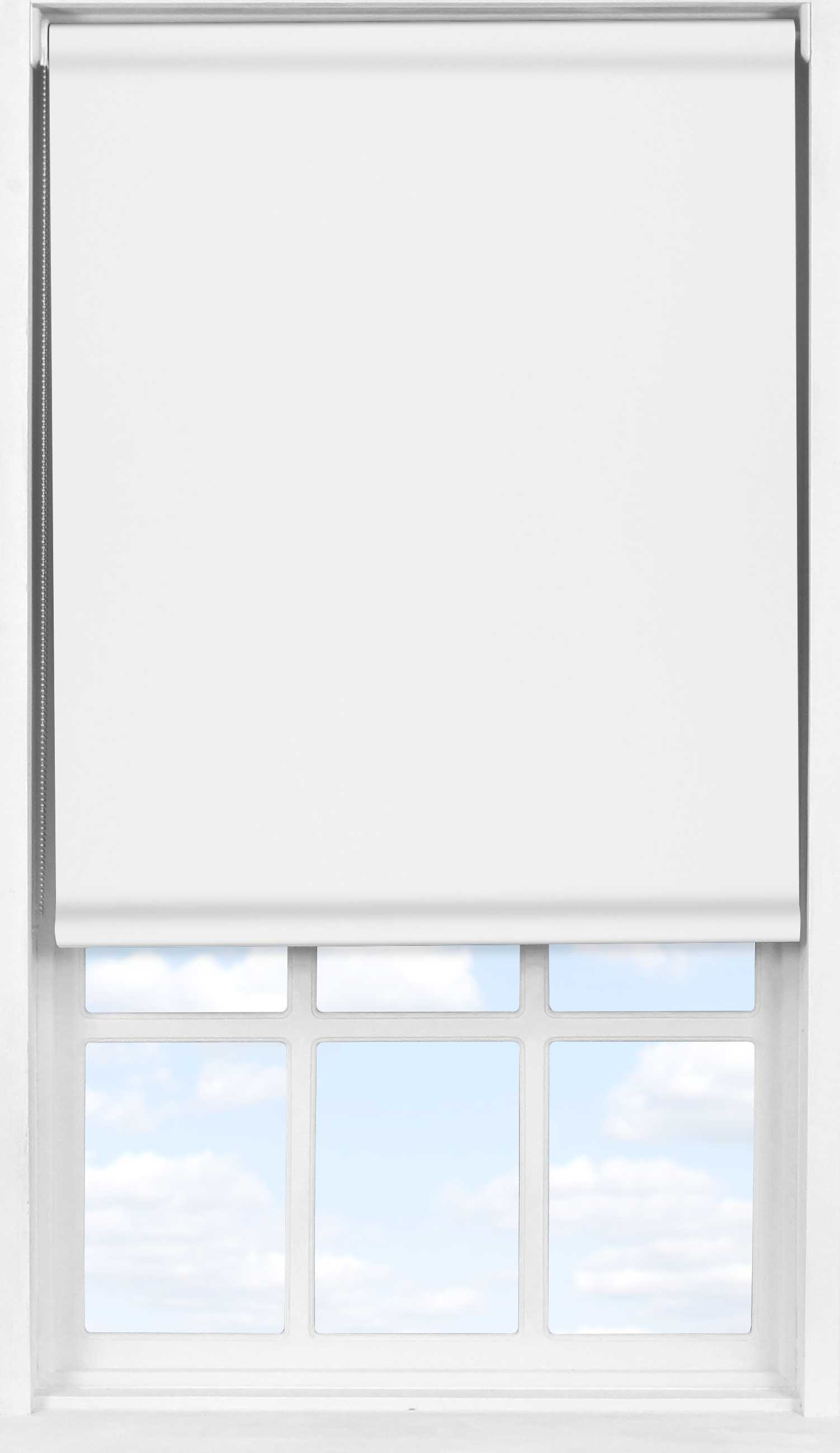 Easifit Roller Blind in Dove White Translucent