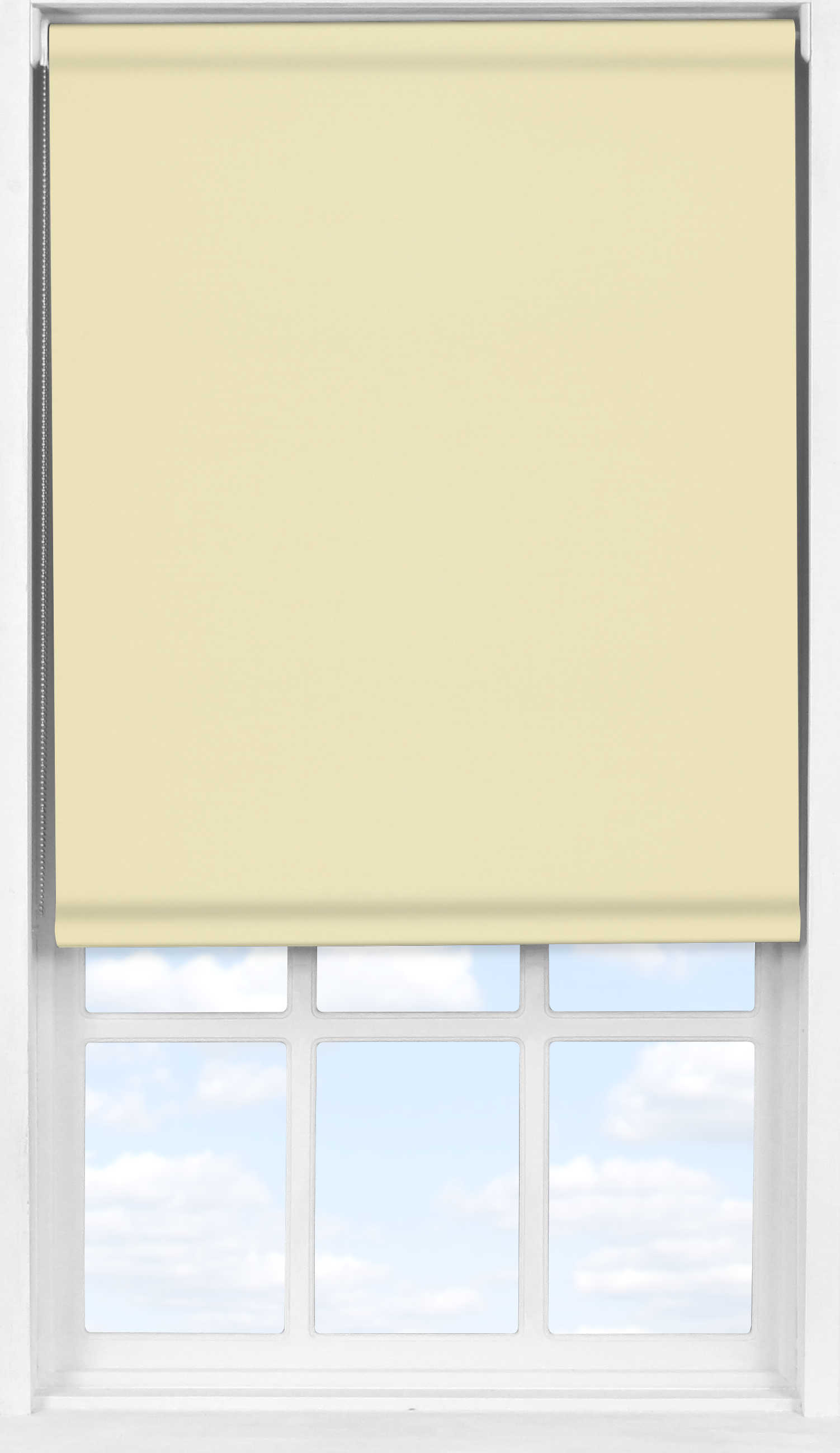 Easifit Roller Blind in Latte Cream Blackout