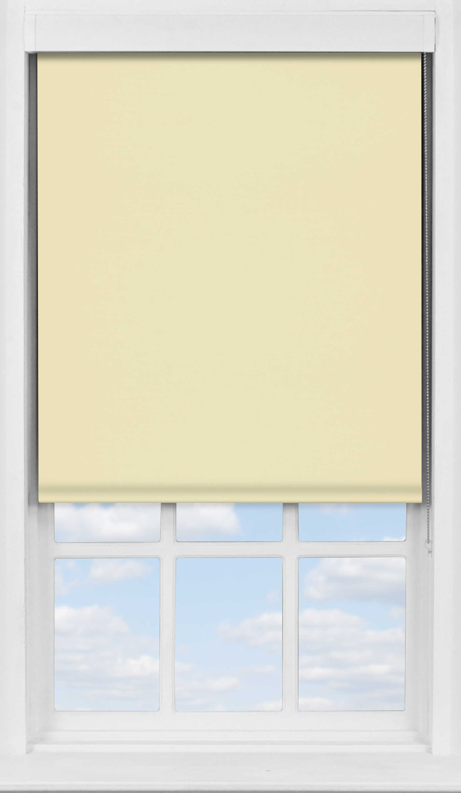 Premium Roller Blind in Latte Cream Blackout
