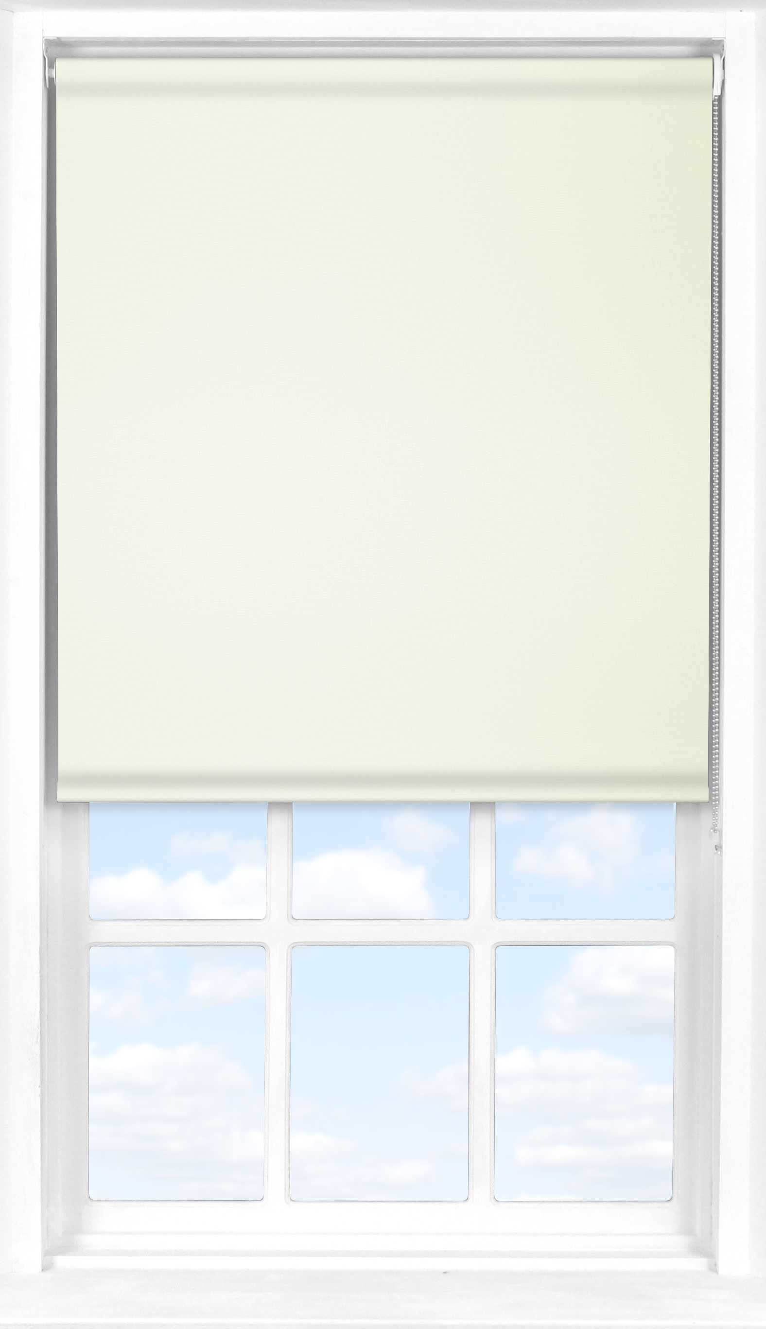 Roller Blind in Tymia Natural Blackout