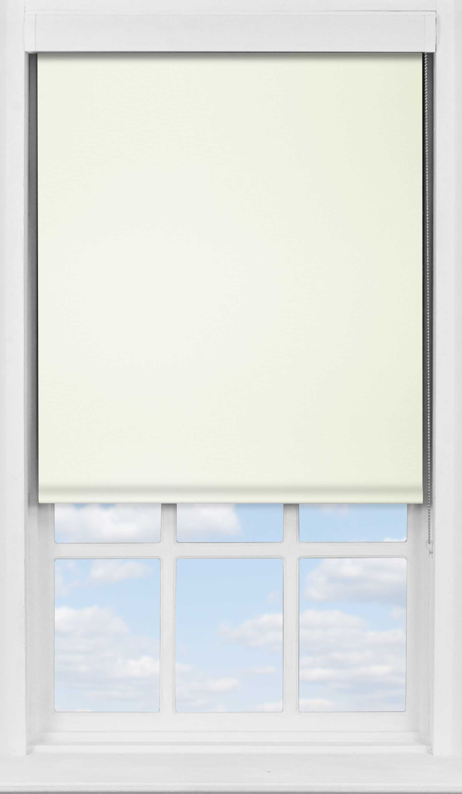 Premium Roller Blind in Tymia Natural Blackout