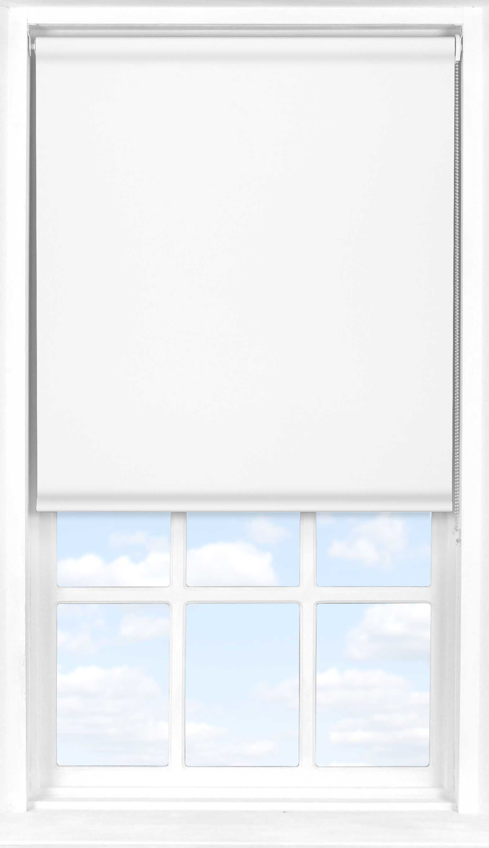 Roller Blind in Polar White Translucent