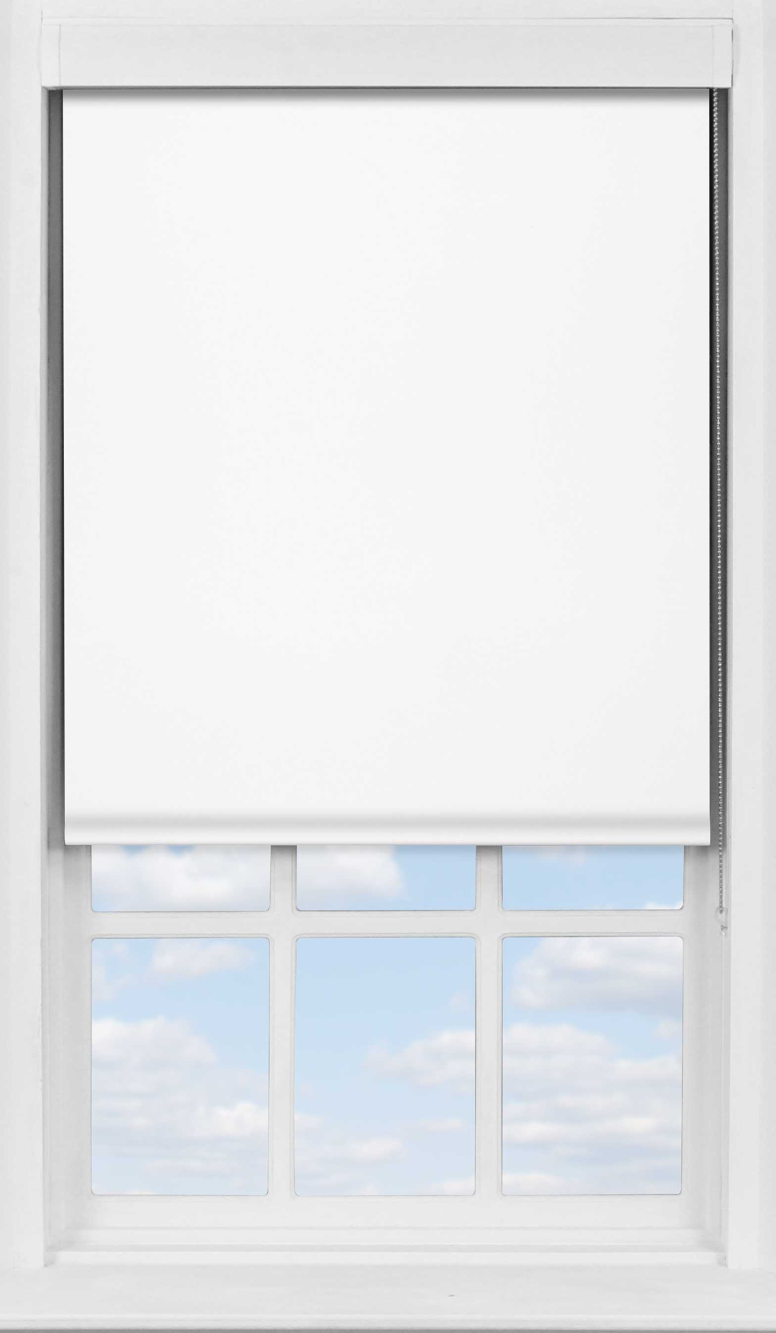 Premium Roller Blind in Polar White Translucent