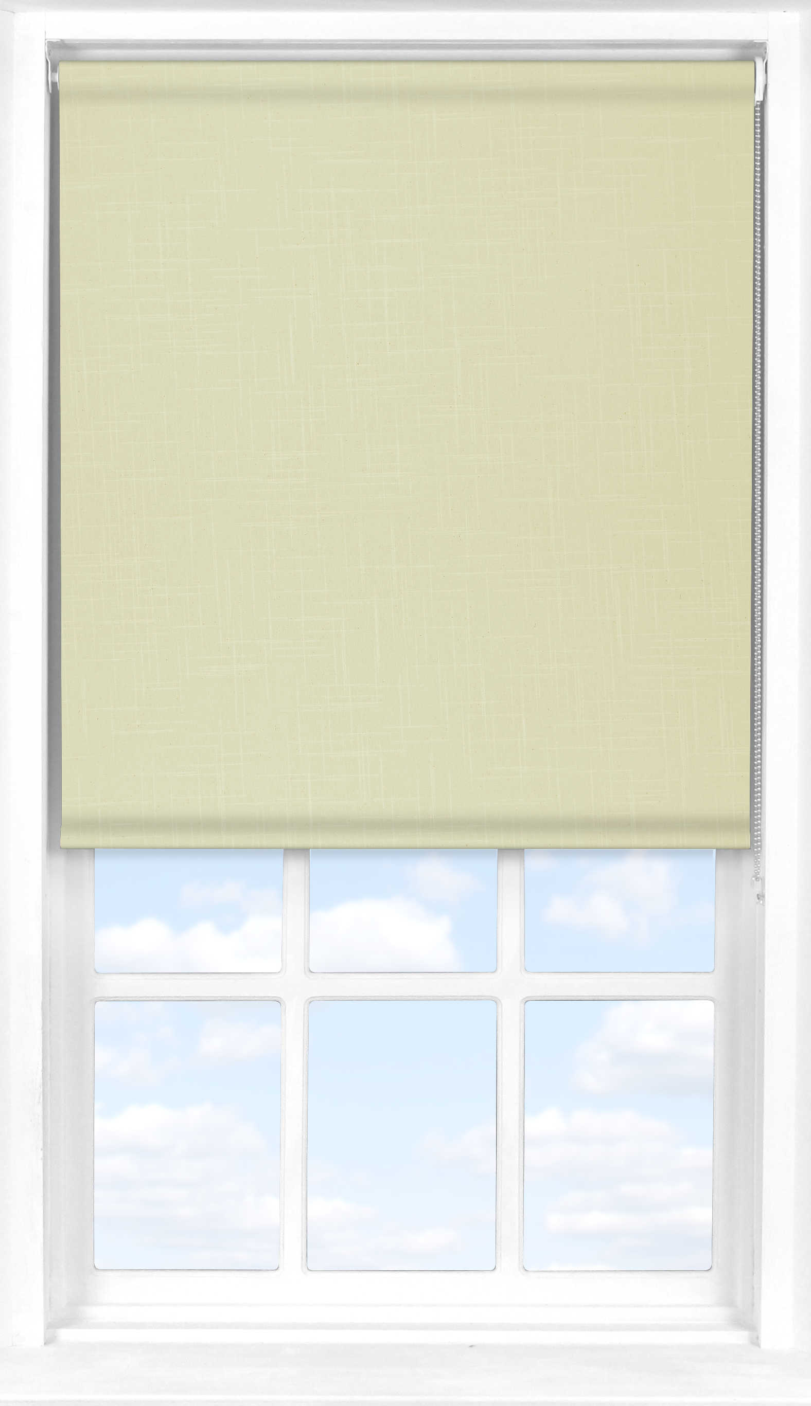 Motorised Roller Blind in Beachcomber Translucent