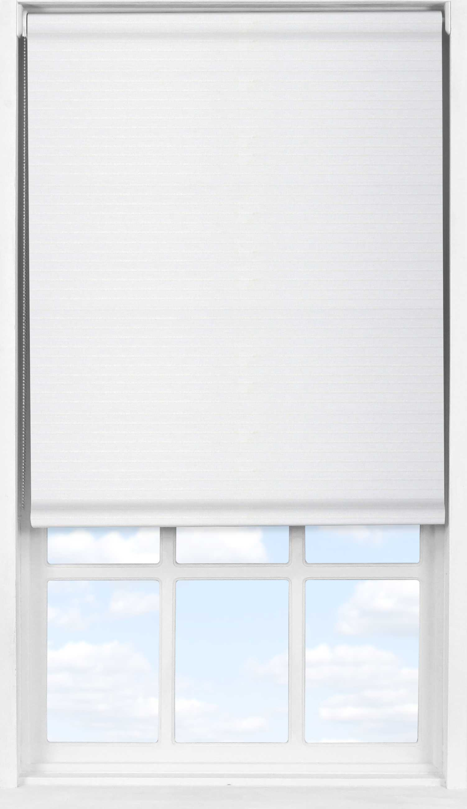 Easifit Roller Blind in Seafoam White Translucent and Transparent Mix