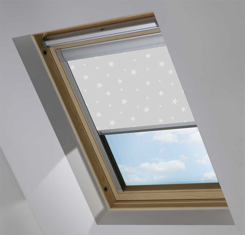 Skylight Blinds to Suit OKPOL® Windows in Night Night Glow Blackout