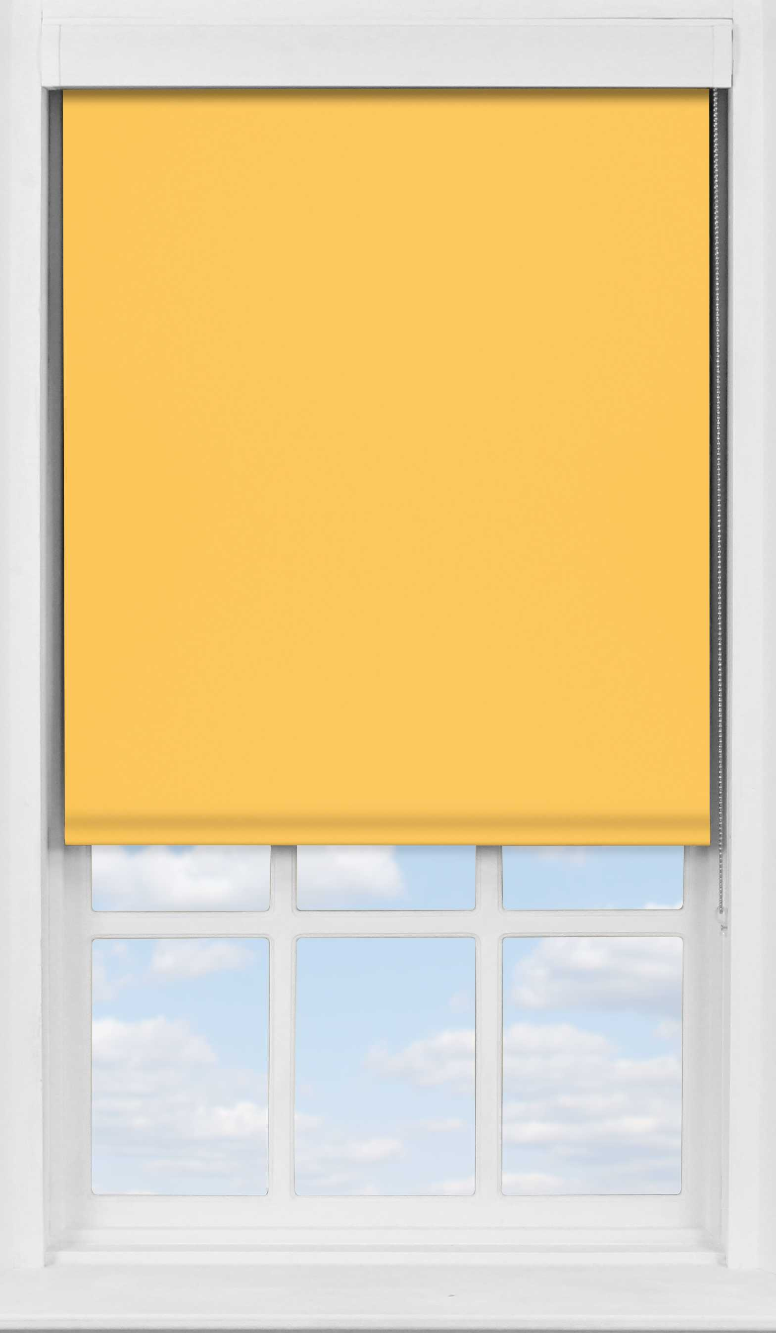 Premium Roller Blind in Whin Blackout