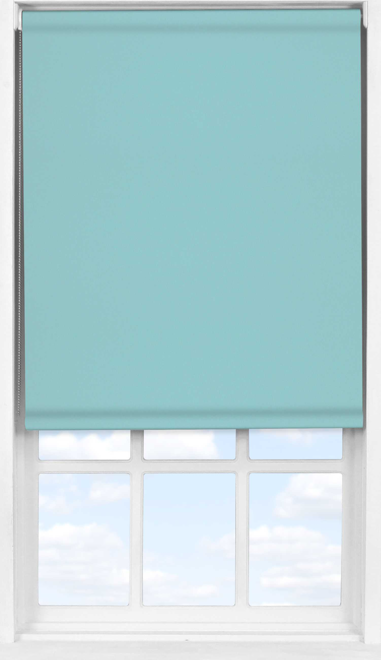 Easifit Roller Blind in Coastal Blue Blackout