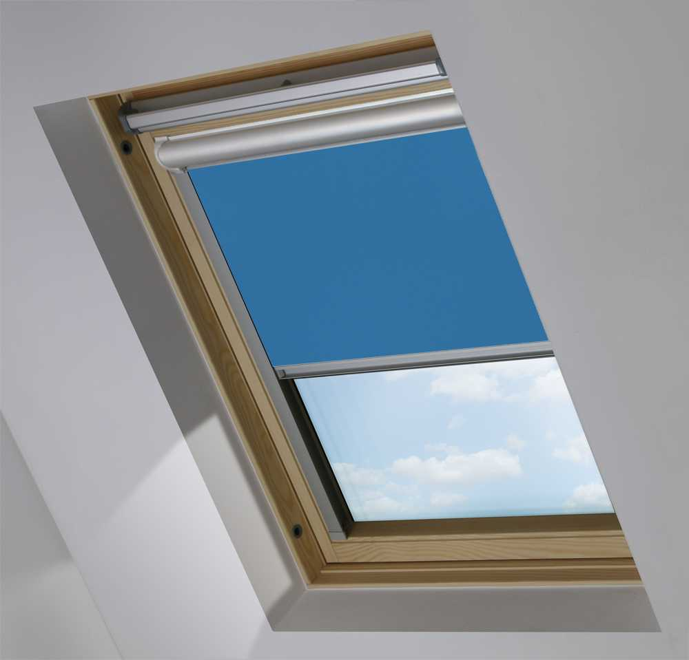 Solar Skylight Blinds to Suit FAKRO® Windows in Cobalt Blackout