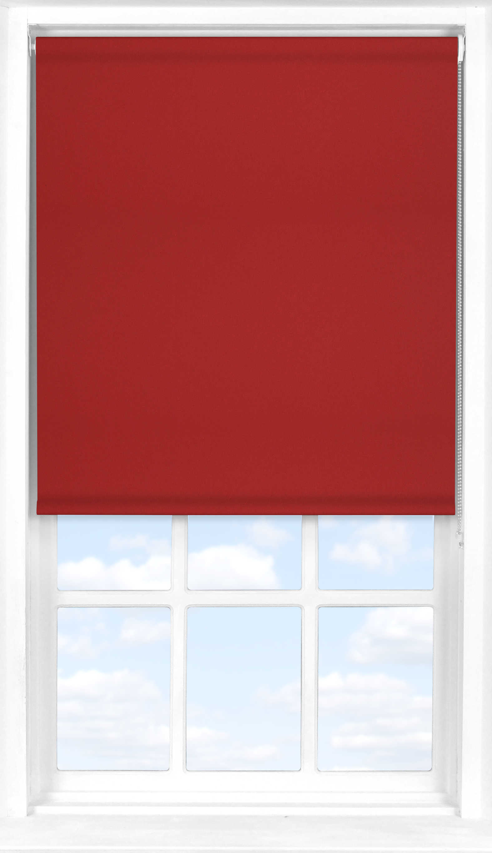 Roller Blind in Redcurrant Blackout