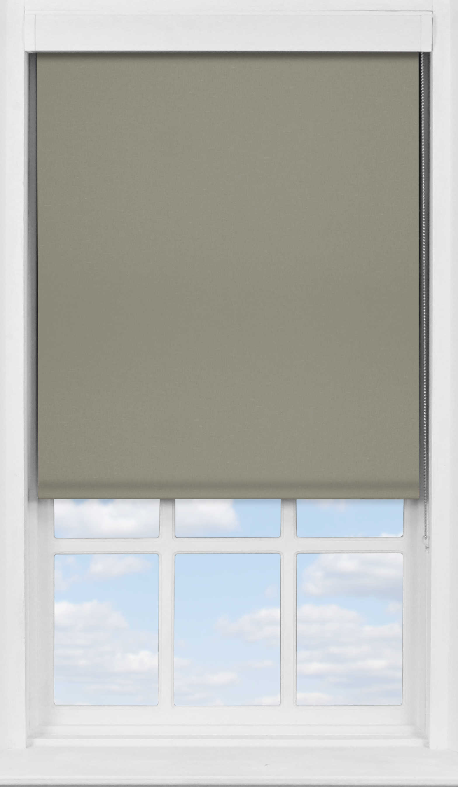 Premium Roller Blind in Wheaten Blackout