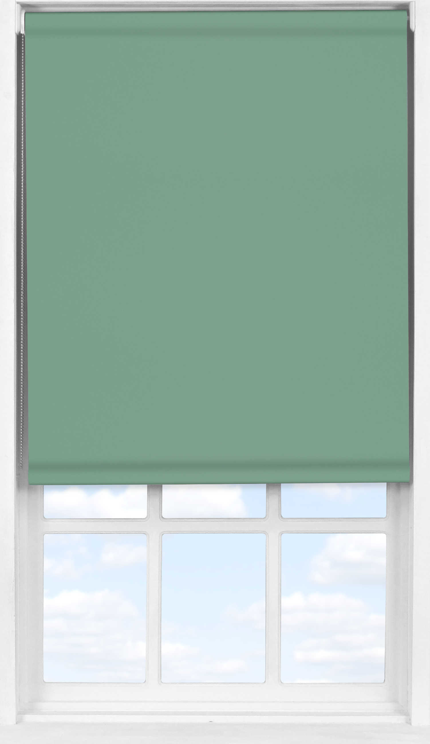 Easifit Roller Blind in Crockery Teal Blackout