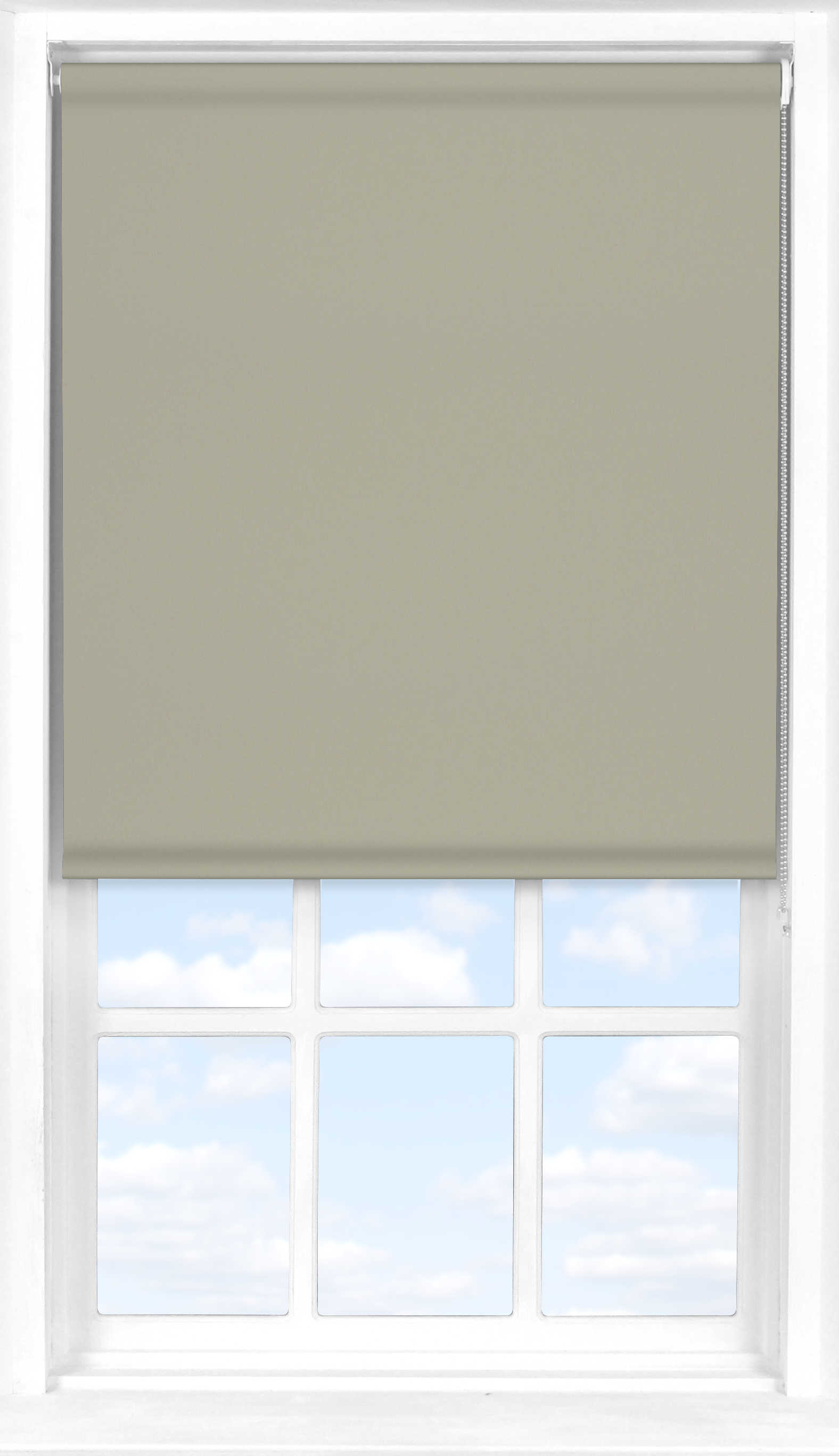 Roller Blind in Gentle Mist Blackout