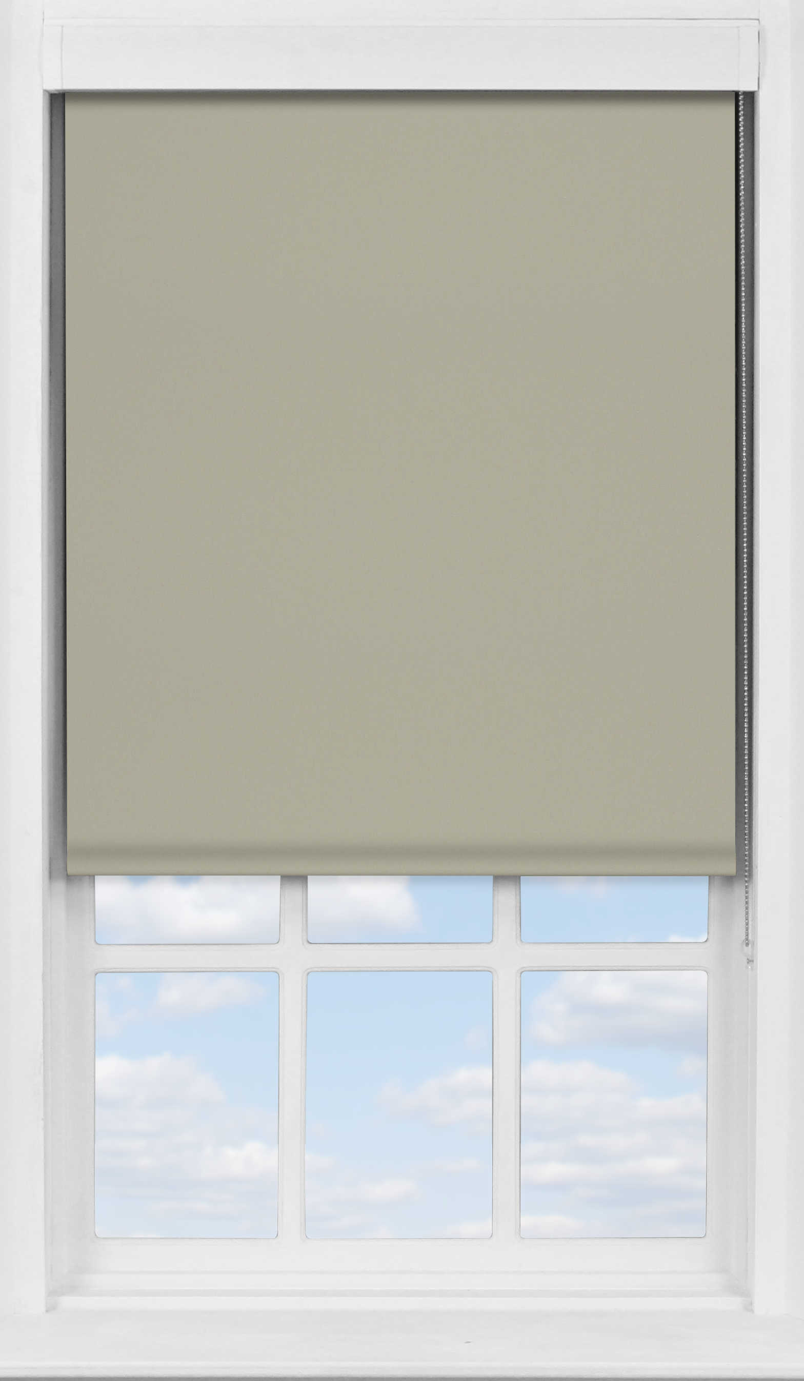 Premium Roller Blind in Gentle Mist Blackout