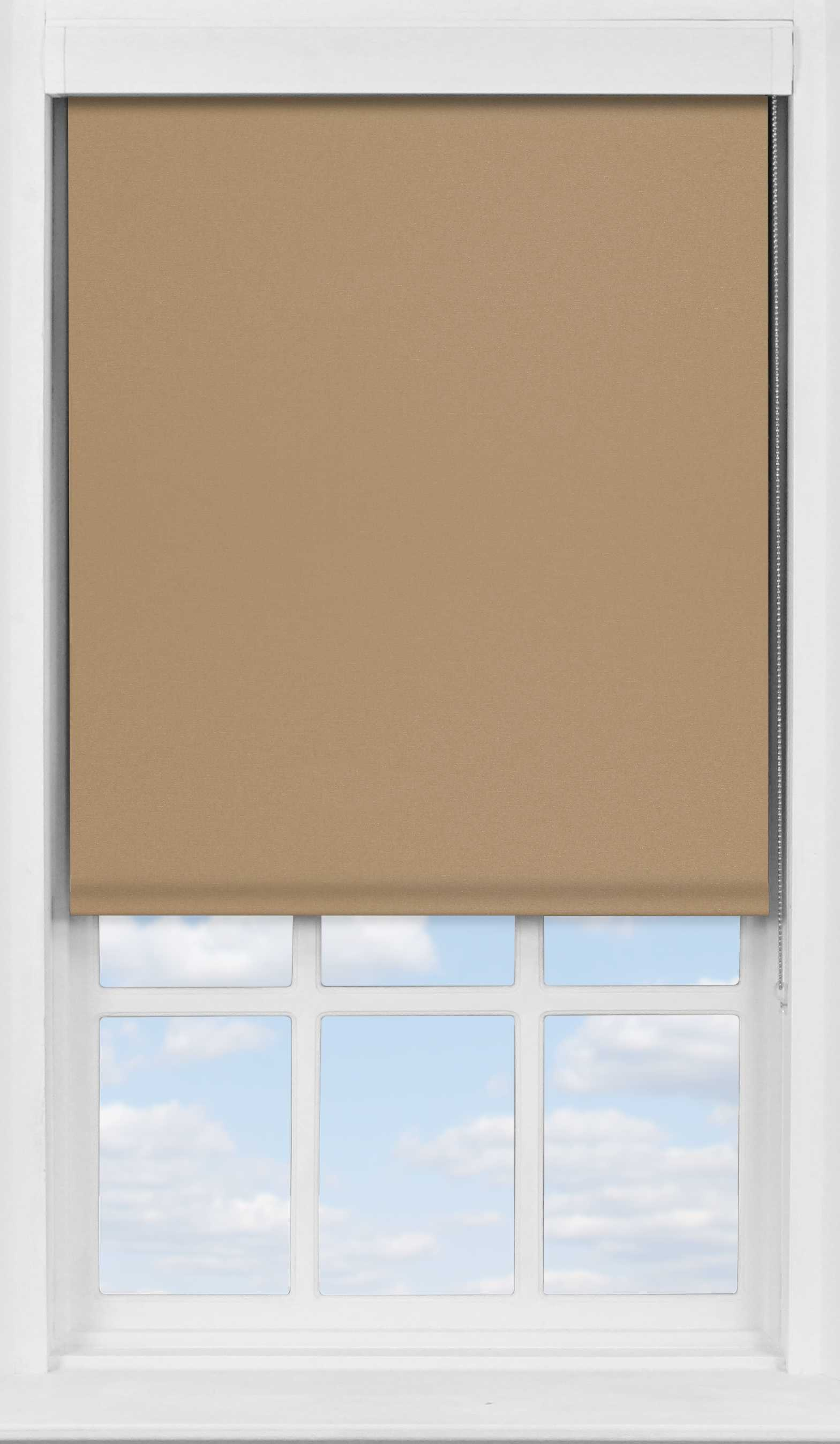 Premium Roller Blind in Coconut Husk Blackout