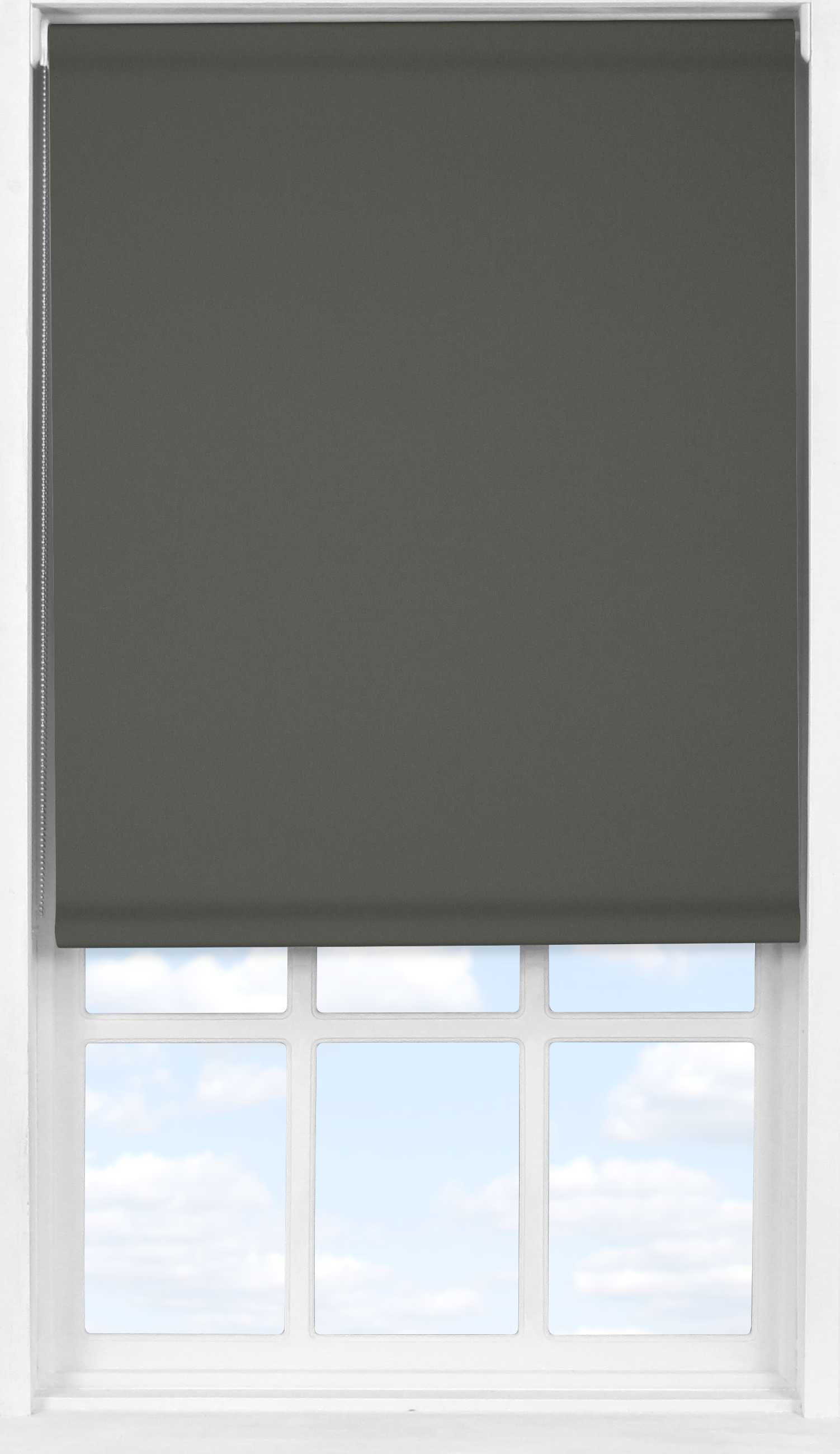 Easifit Roller Blind in Gravel Blackout