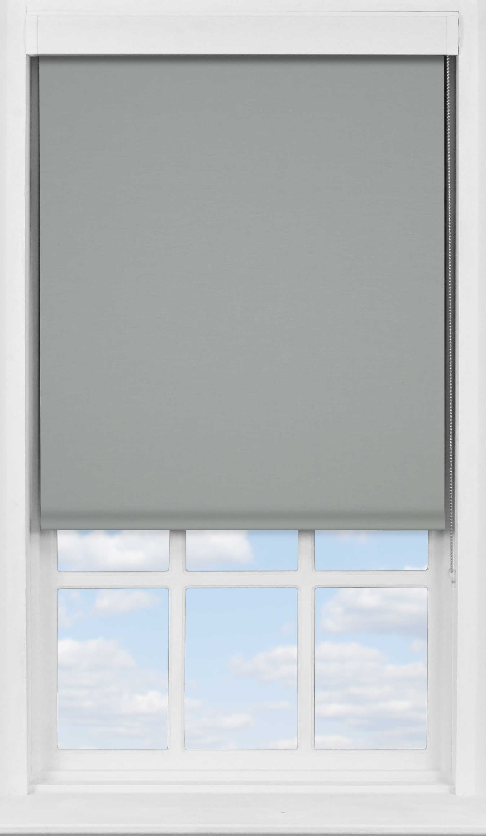 Premium Roller Blind in Marl Grey