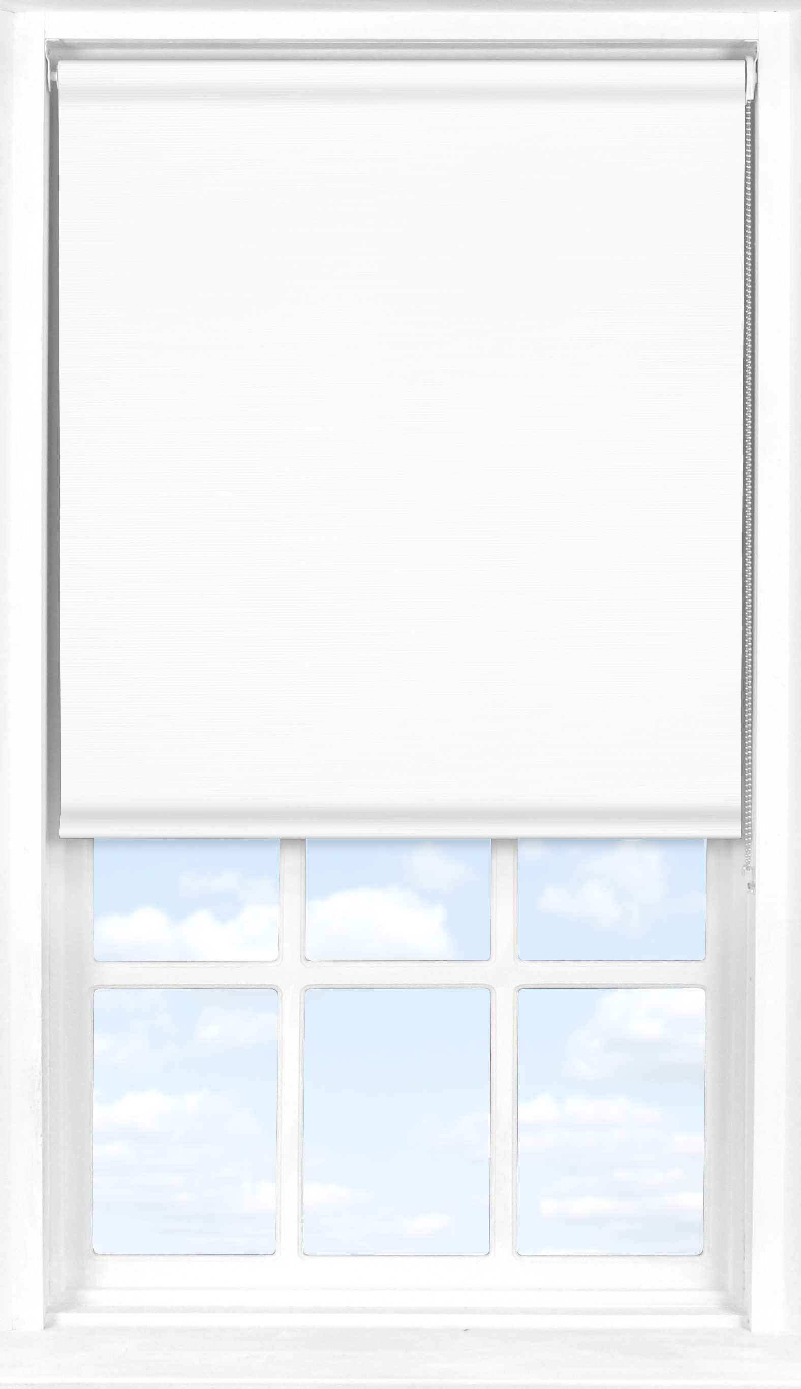 Roller Blind in Orchid White Translucent